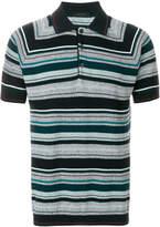 Falke striped polo shirt