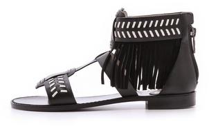 House Of Harlow Gayle Fringe Sandals