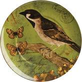 WAECHTERBACH Waechtersbach Nature Set of 4 Bird Salad Plates