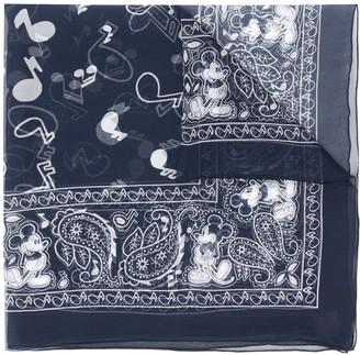 TAKAHIROMIYASHITA TheSoloist. x Disney paisley print scarf