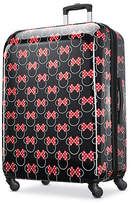 American Tourister Disney Minnie Mouse Head Bows 28 Inch Hardside Lightweight Luggage