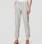 LOFT Herringbone Stripe Pants