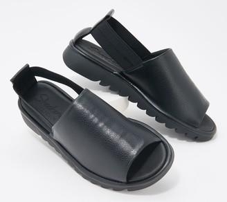 Skechers Open-Toe Solid Slip-On Shoes - Jigsawed