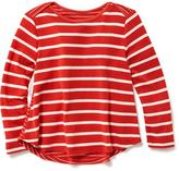 Old Navy Striped Hi-Lo Swing Tee for Toddler
