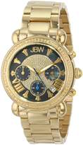 "JBW Women's JB-6210-B ""Victory"" Gold-Tone Diamond Watch"