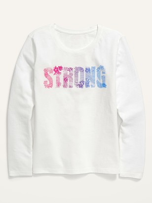 Old Navy Long-Sleeve Graphic Tee for Girls
