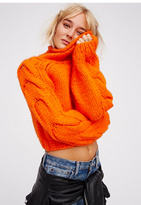 Womens FLORENCE CABLE PULLOVER