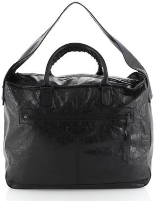 Balenciaga Bridge Classic Studs Bag Leather