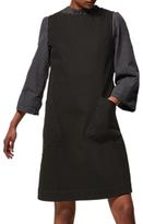 Toast Dora Sleeveless Denim Dress, Black