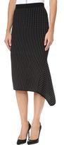 Jonathan Simkhai Asymmetrical Dasha Midi Skirt