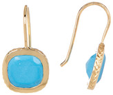 Cole Haan Turquoise Square Drop Earrings
