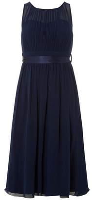 Dorothy Perkins Womens **Showcase Navy 'Bethany' Midi Dress