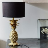 Graham and Green Gold Pineapple Table Lamp Base
