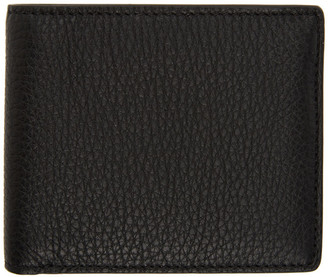 Maison Margiela Black Leather Bifold Wallet