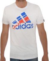 adidas Men's Flag Logo T-Shirt