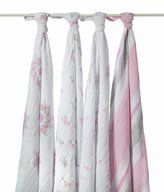 Aden Anais Aden + Anais Classic Swaddle 4-Pack in For the Birds