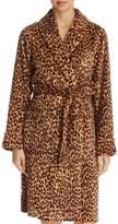Lauren Ralph Lauren Leopard Short Robe