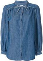 Closed classic denim shirt - women - Cotton/Linen/Flax/Lyocell - XS