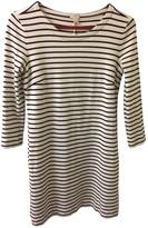 J.Crew White Cotton - elasthane Dress for Women