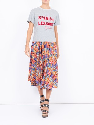 Lhd Spanish Lessons Tee, Grey