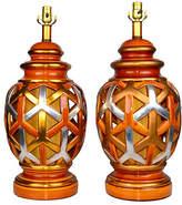 One Kings Lane Vintage,  Lamp, Gold/multi, In Stock