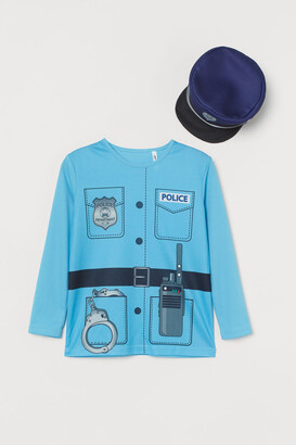 H&M Police Costume - Blue