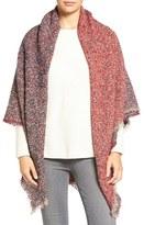 Collection XIIX Women's Colorblock Boucle Wrap
