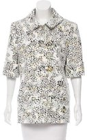 Chanel 2015 Floral Print Jacket w/ Tags