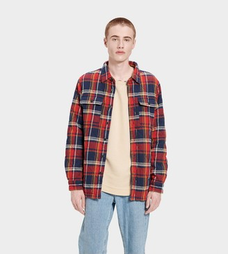 UGG Trent Quilted Shirt Jacket Plaid
