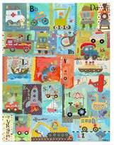 Oopsy Daisy Fine Art For Kids Go Alphabet Canvas Wall Art