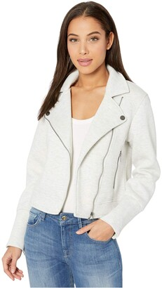 Cupcakes And Cashmere Women's Anabella Knit Moto Jacket
