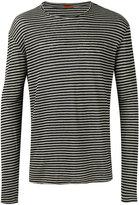 Barena striped jumper - men - Linen/Flax - S