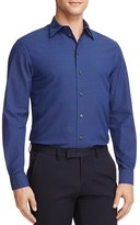 Armani Collezioni Dotted Regular Fit Button-Down Shirt