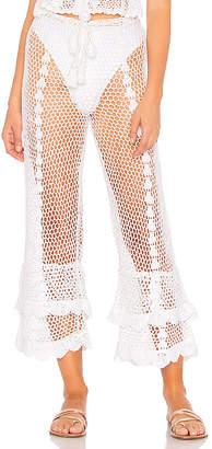LPA Crochet High Waist Culotte