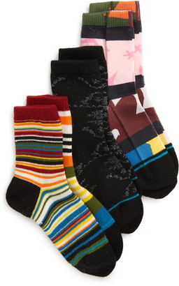Stance Crayon Soup Assorted 3-Pack Crew Socks