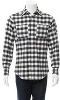 Michael Bastian Patterned Flannel Shirt