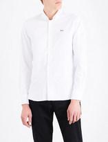 MAISON KITSUNÉ Regular-fit oxford-cotton shirt
