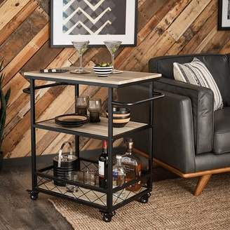 Williston Forge Melani Bar Cart Williston Forge