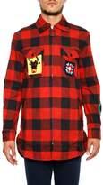 J.W.Anderson Check Flannel Shirt