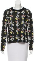 Suno Intarsia Crew Neck Sweater