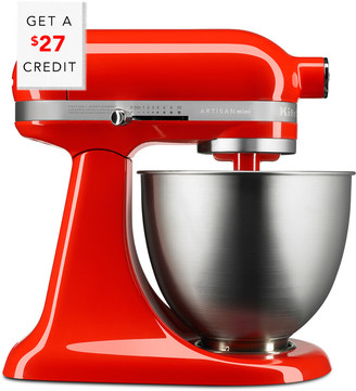 KitchenAid Artisan Mini 3.5Qt Tilt - Head Stand Mixer - Ksm3311xht With $27 Credit