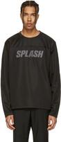Our Legacy Black 'Splash' Moto Pullover