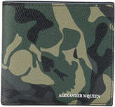 Alexander McQueen camouflage wallet
