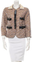 Marc Jacobs Embellished Metallic-Accented Jacket