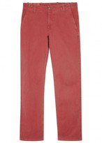 Dockers Red Stretch Cotton Chinos