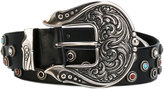 Dodo Bar Or - Radford belt - women - Leather/metal - S