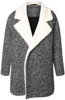 Dex Melange Sherpa Coat