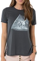 O'Neill Juniors Visions Side Slit Graphic Tee