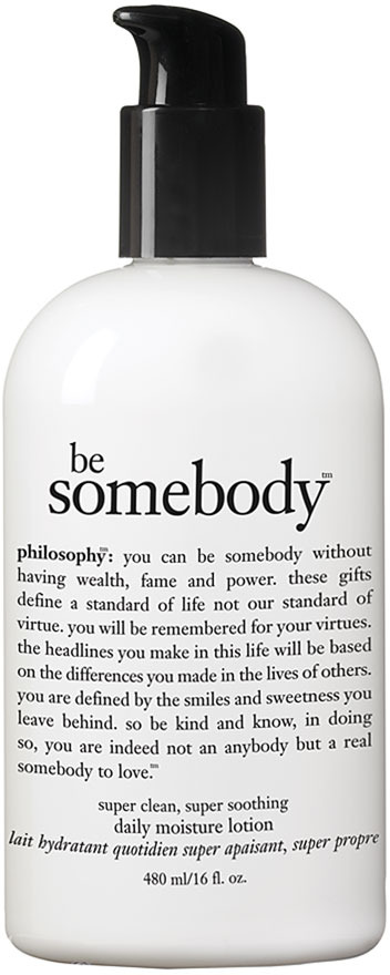 philosophy 'be Somebody' Lightly Scented Body Lotion