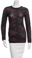 M Missoni Patterned Crew Neck Sweater w/ Tags